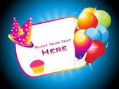 Happy birthday backgorund — Stock Vector