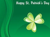 Background for happy st patrick day — 图库矢量图片