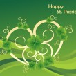 Illustration for happy st patricks day — Stock Vector