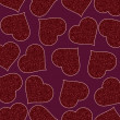 Romantic pattern illustration — Imagen vectorial