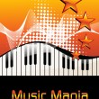 Royalty-Free Stock Imagem Vetorial: Illustration of musical background