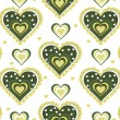 Romantic pattern illustration — Stockvectorbeeld