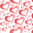 Romantic pattern illustration — Vector de stock #4042731