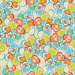 Romantic pattern illustration — Vector de stock #4042748