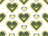 Romantic pattern illustration — Stock Vector
