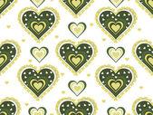 Ilustración de patrón romántico — Vector de stock