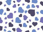 Romantische muster-abbildung — Stockvektor