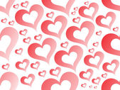 Romantic pattern illustration — Wektor stockowy
