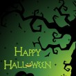 Illustration for happy halloween celebration — Vector de stock #4062627