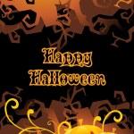 Illustration for happy halloween celebration — Stock Vector #4062680
