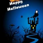 Illustration for halloween — Stock Vector