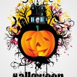 Illustration for halloween — Stock Vector
