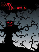 Illustration for happy halloween celebration — Stock Vector