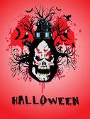 Illustratie voor halloween — Stockvector