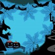 Illustration of halloween background — 图库矢量图片 #4083147