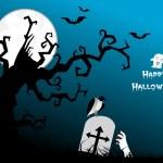 Illustration for halloween celebration — Stock Vector