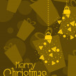 Merry christmas background - Image vectorielle