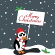 Merry christmas background - Imagen vectorial