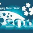 Wallpaper for new year — Stock Vector