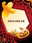 Background for halloween celebration — Stock Vector