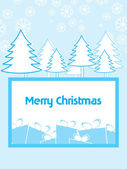 Illustartion for merry christmas celebration — Stock Vector