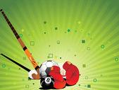 Vector sports background — Stock Vector