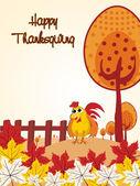 Seasonal background illustration — Stock Vector