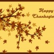 Background for happy thanksgiving day - Stock Vector