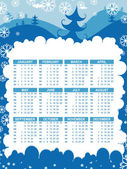 Vector calender for new year 2011 — Vettoriale Stock