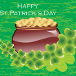 Illustration for happy st. patrick — Stock Vector #4207630