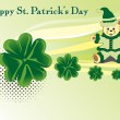 Illustration for happy st. patrick — Stock Vector #4207633