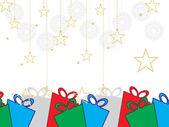 Background for merry christmas celebration — Stock Vector