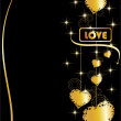 Abstract love background — Stockvektor