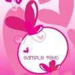 Royalty-Free Stock Векторное изображение: Vector illustration of love background