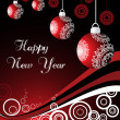 Royalty-Free Stock Vector Image: Happy new year wallpaper for 2011