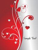 Obrázek pozadí romantické lásky — Stock vektor