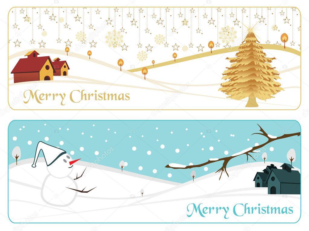 时尚图案快乐圣诞横幅,矢量图 — 矢量图片作者 alliesinteract