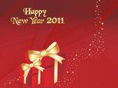 Ilustración para año nuevo 2011 — Vector de stock