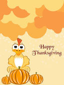 Vector for happy thanksgiving day — Stockvector