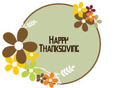 Vector for happy thanksgiving day — Stockvektor