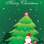 Illustration for merry xmas celebration — Stock Vector #4284265