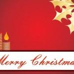 Illustration for merry xmas celebration — Stock Vector #4284277