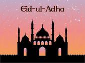 Illustratie voor eid al-adha — Stockvector