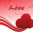 Royalty-Free Stock Imagem Vetorial: Vector illustration for love