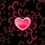 ilustração vetorial para o amor — Vetorial Stock