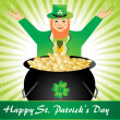 Illustration for happy st. patrick - Stock Vector