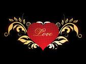 Vectorillustratie voor liefde — Stockvector