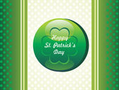 Illustration for happy st. patrick — Stock Vector