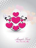 Fond pour l'amour — Vecteur