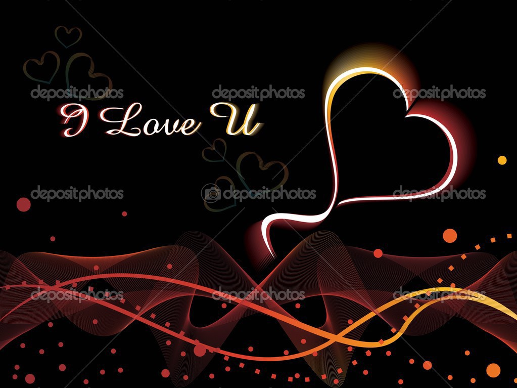 Beautiful romantic background for love — Stock Vector #4303827
